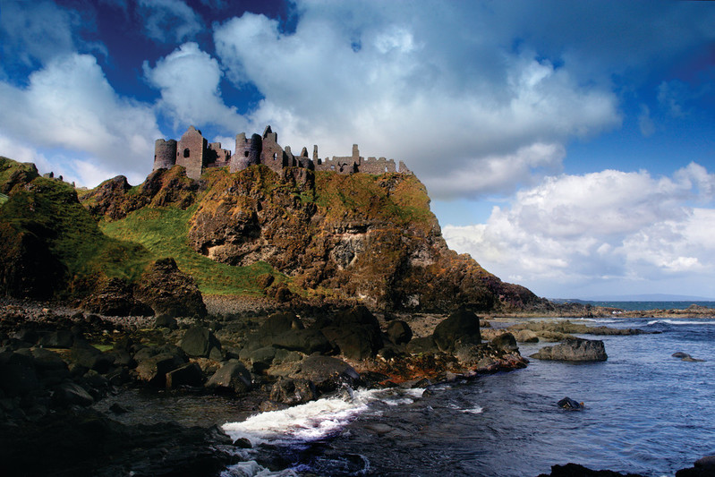 Dunluce Castle, North Coast, Ireland